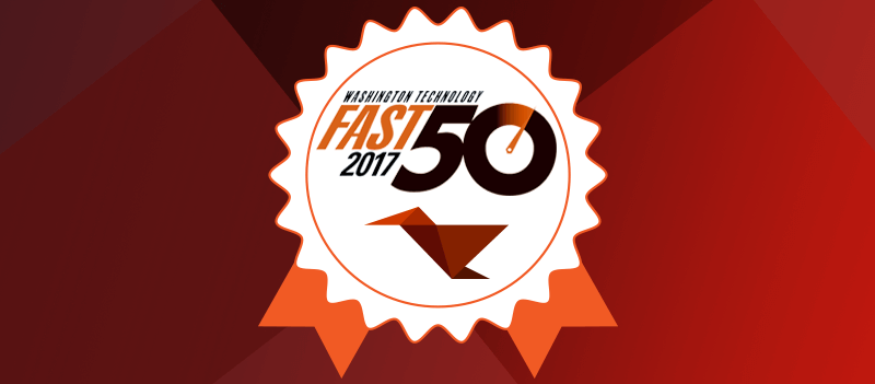 Adnet, Inc. is proud to announce that it has been named to the prestigious 2017 Washington Technology Fast 50